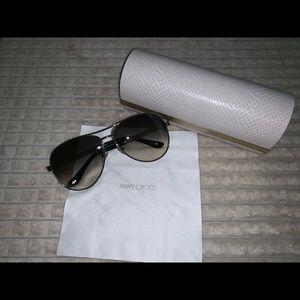 44c6c99b010 Jimmy Choo Accessories - Jimmy Choo Lexie Aviator Sunglasses